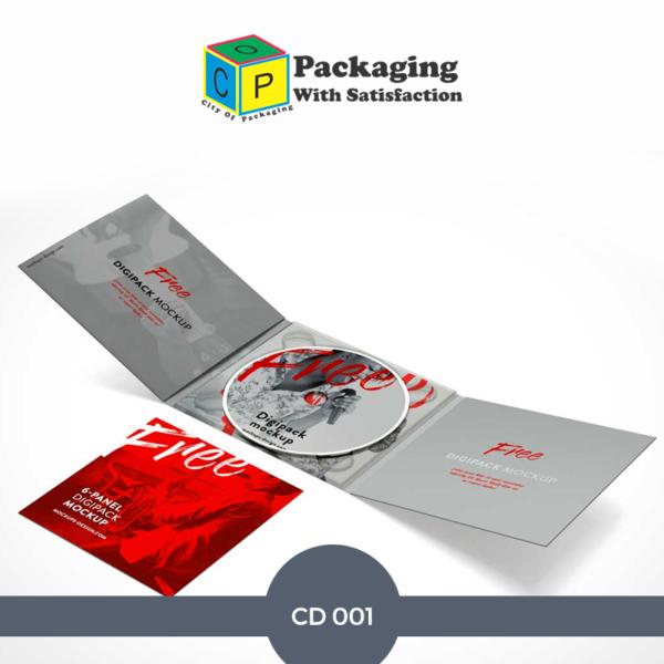 custom CD Jackets Printing