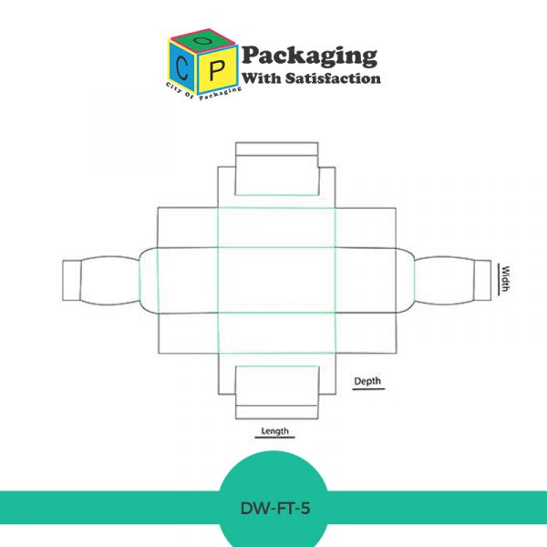 Double wall frame tray with lid box style template and design