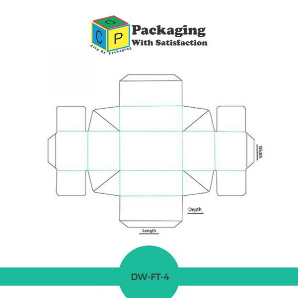 Double wall frame tray lid box template and design