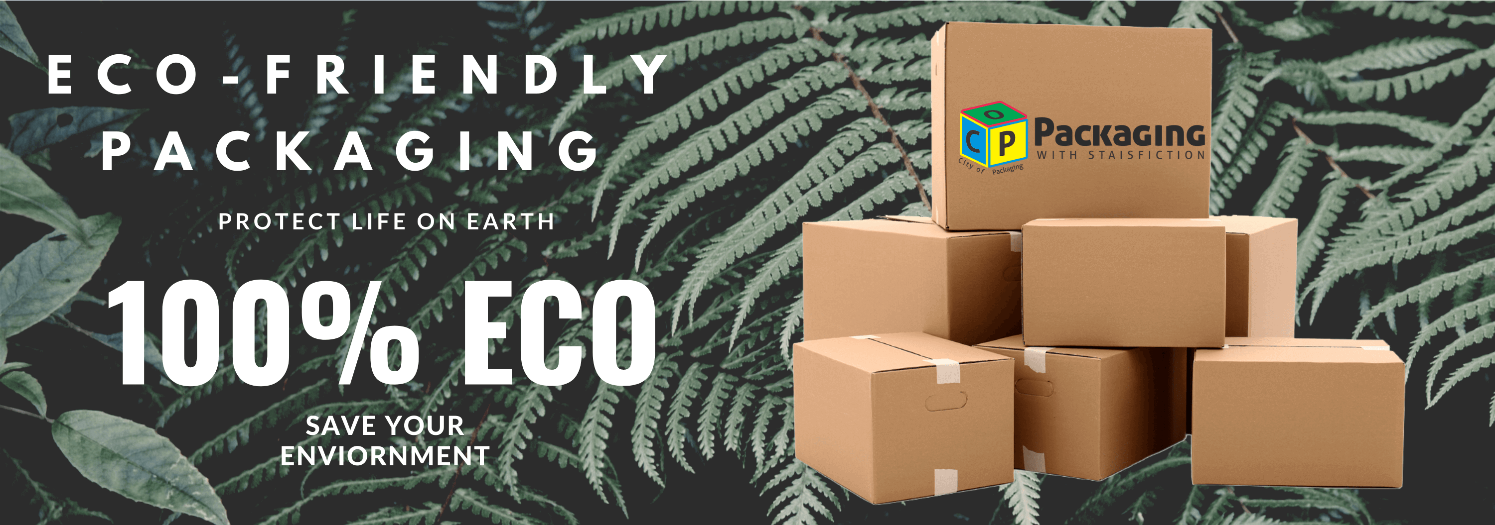 Eco Friendly boxes green packaging