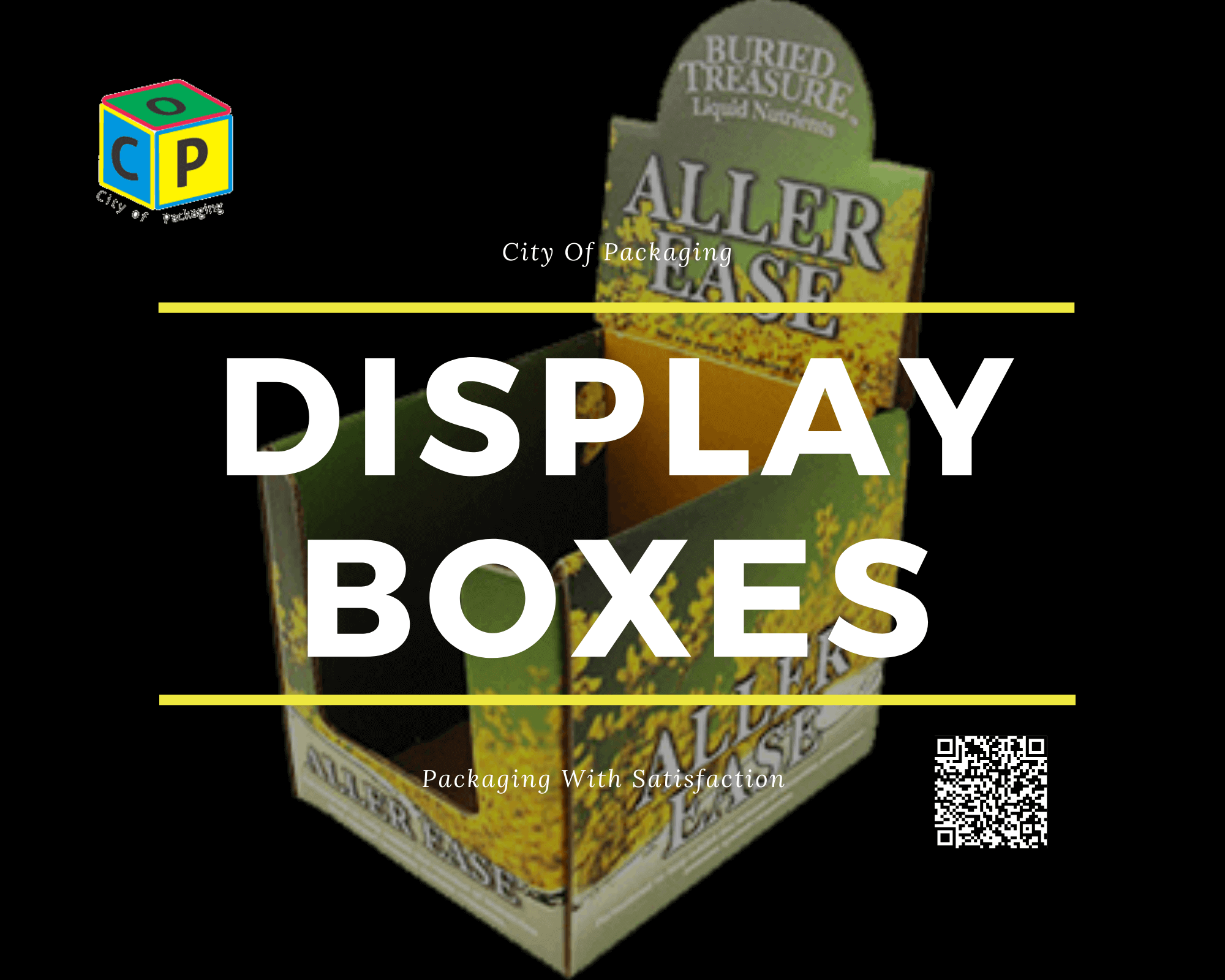 Use custom printed display boxes for your makeups