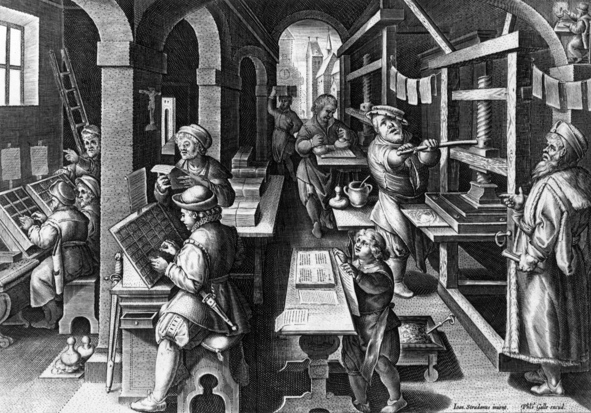 When Was The Printing Press Invented - Who Invented The Printing Press » City Of Packaging