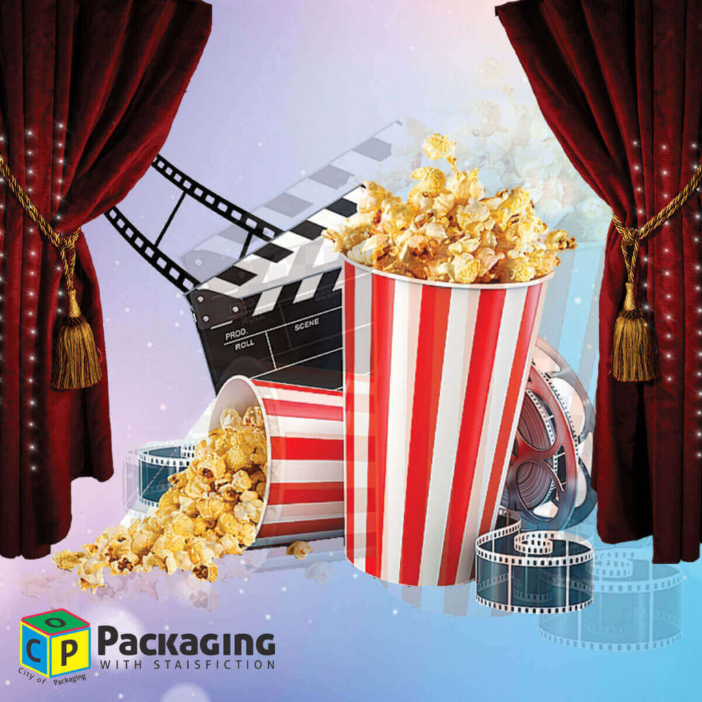 cinema popcorn boxes designs made by city of packaging