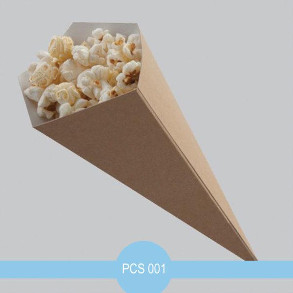 pop corn cones